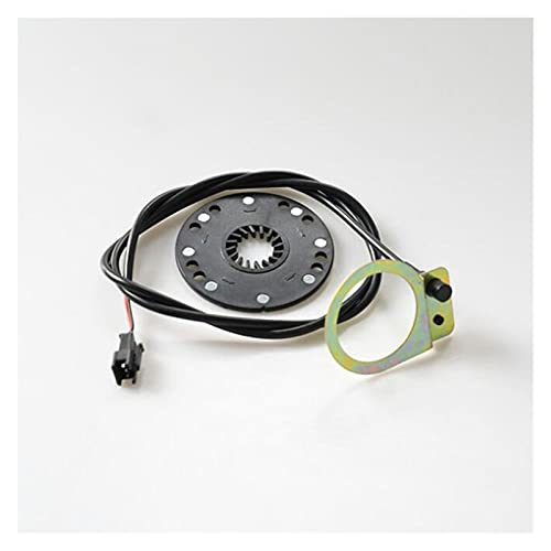 Sensore di assistenze per pedali per motorino per biciclette elettrico, 5 magnete di tipo magnete 8 magnete 12 magnete PAS. sistema FAI DA TE E. -Bike parti modificate ( Color : 12 magnet 800mm line )