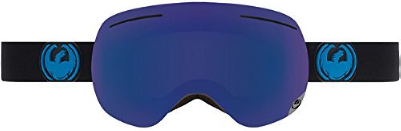 Dragon Alliance X1 Ski Goggles, Jet Dark Smoke blueee by Dragon Alliance