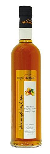 Allgäu-Brennerei Weinbergpfirsich-Likör, 18% Vol. (1x0,5l)
