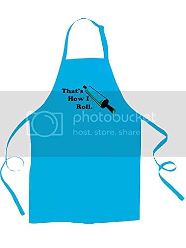 Voilà comment je roule drôle, idiot chef de cuisine pour enfants/enfants - Ice-Tees S bleu