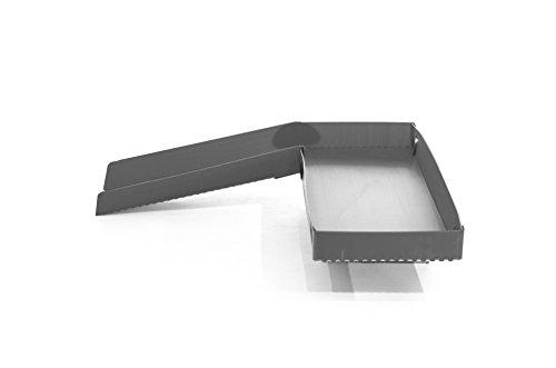Kavee Jaula C & C para roedores – Smart corx loft – no requiere bricolaje (gris)