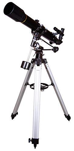 Telescopio Refractor Levenhuk Skyline Plus 70T con Apertura de 70mm y Montura Ecuatorial para Niños y Principiantes