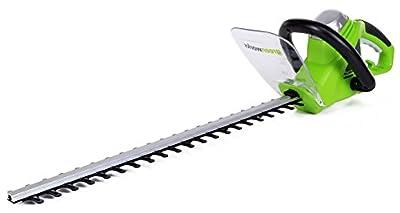 Greenworks 22-Inch 4-Amp Corded Hedge Trimmer 2200102