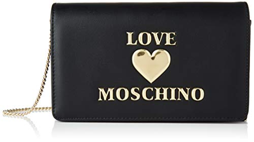 Love Moschino Damen BORSA PU Fashion, Schwarz, Normale