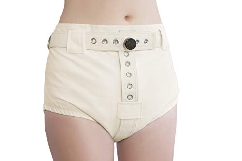 Windelhöschen mit Segufix - Lockable Diaper Cover Pants Anti Diaper Removal ABDL Adult Baby