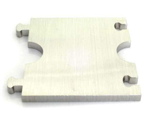 DUB SPENCER Adapter Edelstahl für Heizkörper rund Rosette - HEIZUNG Ø 12, 15, 16, 18, 20, 22 mm (15 mm Rohrdurchmesser)