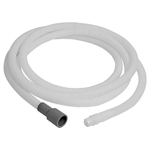 Eastman 69010 Flexible Dishwasher Discharge Hose Extension for Maytag and Whirlpool, 12 Feet Length, White