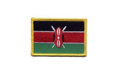 Aufnäher Patch Flagge Kenia - 8 x 6 cm