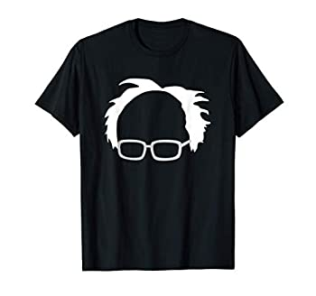Bernie Sanders Hair And Glasses Bernie 2020 T-Shirt