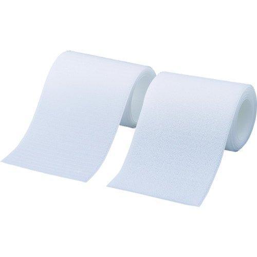 トラスコ TRUSCO マジックテープ 縫製タイプ 25mmX1m 白 1巻=1セット TMSH-251-W 389-7273
