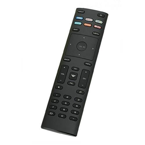IUwnHceE Xrt136 Control Remoto Compatible para Smart TV Largo Mango De Plástico con 6 Teclas De Acceso Rápido Negro Accesorios Electrónicos De Regalo