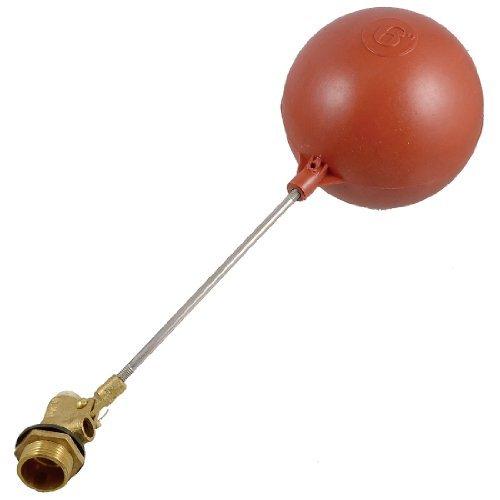 Sensor de nivel de agua líquida DealMux 3/4 rosca de plástico magnético de boya roja