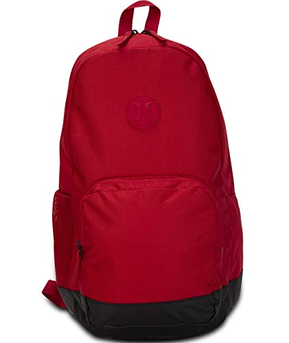 Hurley Blockade II Solid 21L Backpack - Gym Red