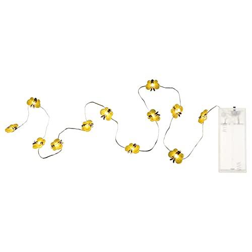 JLZK Stablize Butterfly String Light LED LED Stringa Lampada String Lights Giallo Luce Decorativa Compatibile con Camera Birthday Ambient Light Nessuna Batteria 20 Lampadine .Atmosfera