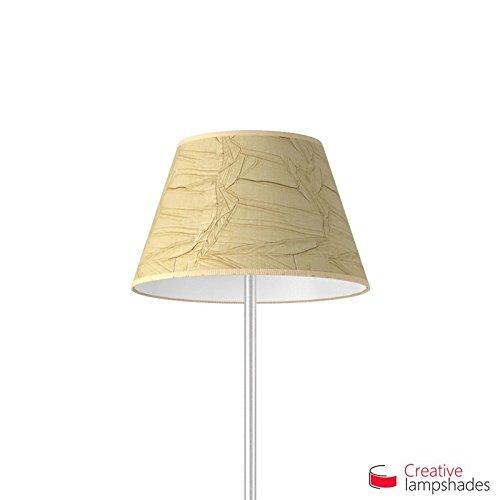 Creative Lampshades Empire Lampenschirm Jute Palmenblatt - Durchmesser 55-33cm - H. 31cm, E27 Für Standleuchten, Nein