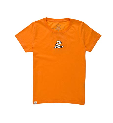 El Niño - Camiseta básica para niños con Print, Naranja, Talla 16 años