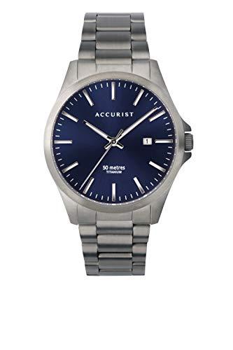 Accurist Titanium Classic Horloge voor heren met Titanium Band 7309