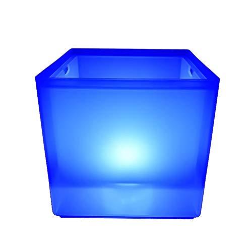 Cubo de hielo de fiesta Cubo de hielo LED RGB CAMBIO CAMBIO CAMBIO DE CABEZADOR CERRANTE CERVEZA DE HIEL CUBO DE HIELO CUBO DE VINO DE ICE 3.5 L PARA FIESTA, HOGAR, BAR Para bar, reunión familiar