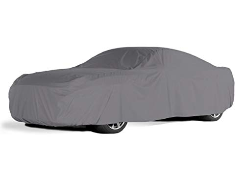 Covermates Outdoor Car Covers - Weathertite Prime Polyester - Weatherproof and Durables - Charcoal