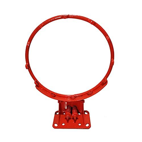 FACAZ Tableros portátiles de Baloncesto Aro de Baloncesto Profesional con Red, niños Adultos Montaje en Pared Juego de aro de Baloncesto para Patio, Easy Dunk, 180 kg de Carga (Color: 4 Agujeros)