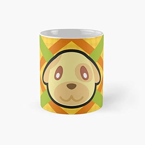 Goldie Animal Crossing Classic Mug Best Gift Funny Coffee Mugs 11 Oz