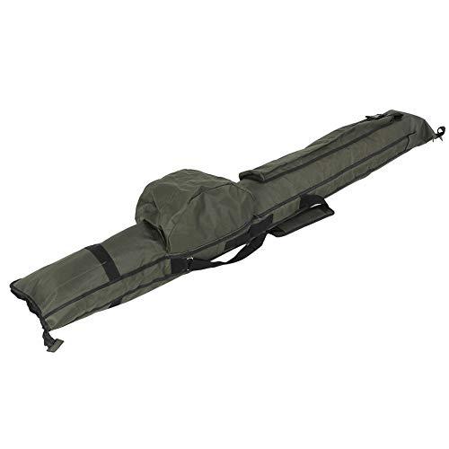 Ausla Bolsa para caña de pescar, funda de tela Oxford, accesorio de pesca para sujetar 3 juegos de cañas de pescar
