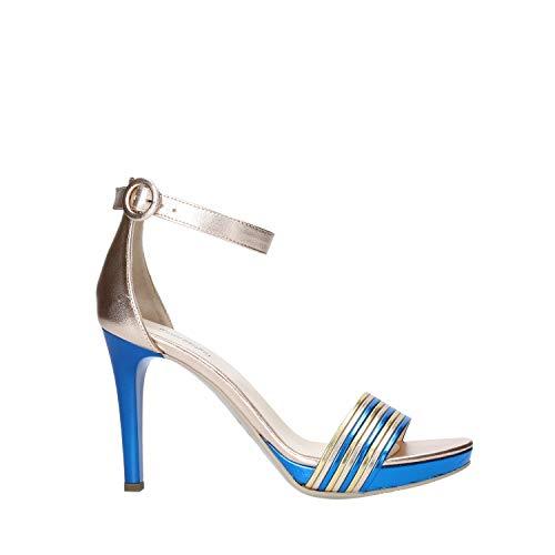 Nero Giardini E012802DE - Sandalias de mujer de piel Multicolor Size: 38 EU