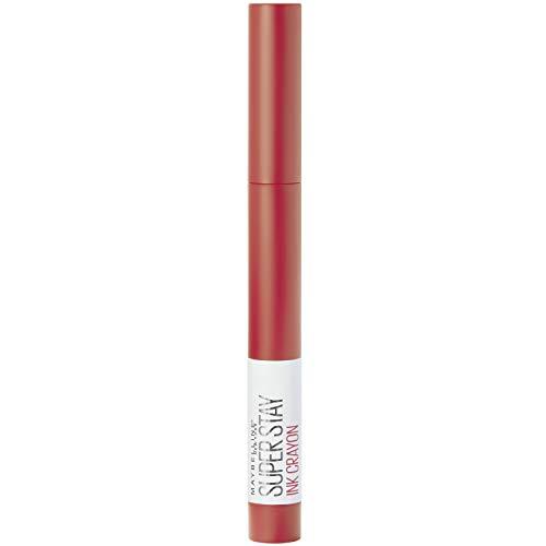 Maybelline New York Lippenstift, Super Stay Ink Crayon, Matt und langanhaltend, Nr. 40 Laugh Louder, 1,5 g