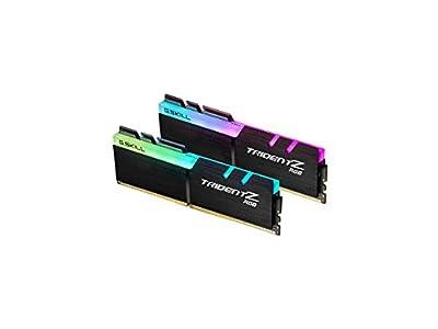 G.SKILL TridentZ RGB Series 32GB (2 x 16GB) 288-Pin DDR4 SDRAM DDR4 3200 (PC4 25600) Desktop Memory Model F4-3200C16D-32GTZRX