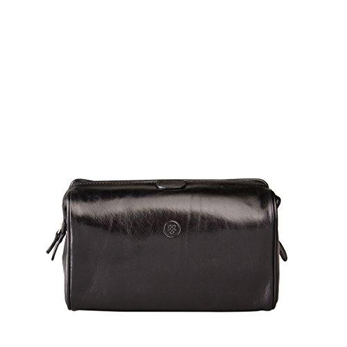 Beauty case di lusso in pelle nera (DunoM)