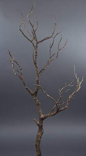 Seidenblumen Roß Dekoast/Dekozweig 70cm braun YF künstlicher AST Zweig Kunstast Kunststoff