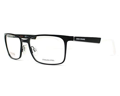 BOSS Orange Brillengestelle BO 0265 GUF Monturas de gafas, Negro (Schwarz), 56.0 para Hombre