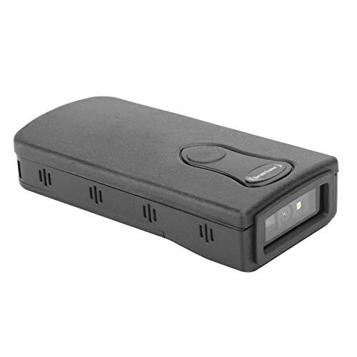 01 Mini Escáner De Código De Barras Inalámbrico,Lector Códigos QR Bluetooth USB,Lector Decodificador Cuadrado Automático,Escaneo De Detección,Pistola De Escaneo Rojapara Almacén,Tienda, Supermercado