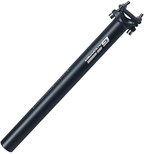 GANOPPER 27.2 * 350mm Alu Fixed Gear Riduttore Fisso TO Fixie Bike microregolazione reggisella Retro Bicicletta della Strada della Fibra del Carbonio Sedile Tubo (27.2 * 350mm)