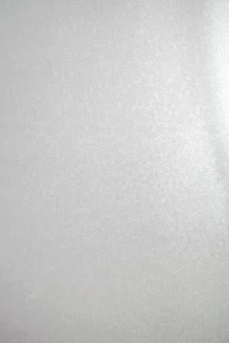 Cartón Azul nacarado, 250 g, DIN A4, 210 x 297 mm, Efecto metálico, Color Azul Brillante, Ideal para Tarjetas de Boda, Invitaciones, Tarjetas de Visita