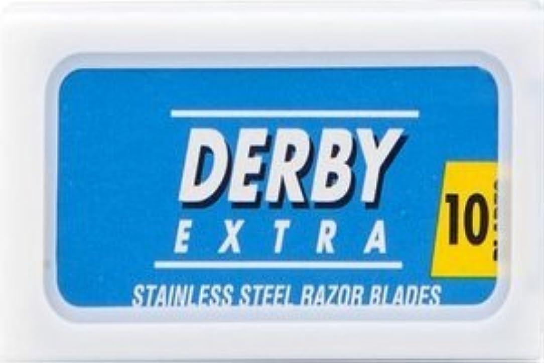 Derby Extra Blue 両刃替刃 100枚入り(10枚入り10 個セット)【並行輸入品】