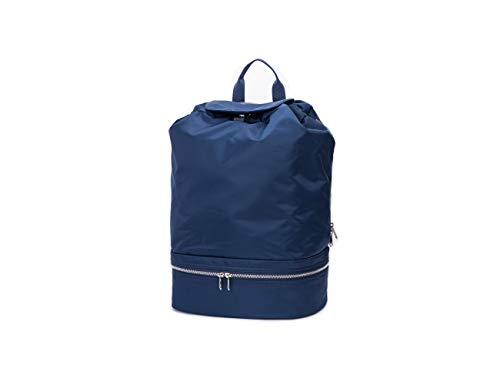 Best International Travel Waterproof Backpack with Shoe Compartment Good For Women Men Hiking Camping Outdoor (Blue)