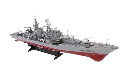 RC BOAT RADIO CONTROLLED BOAT Destroyer Radio Remote Control R/C Boat...