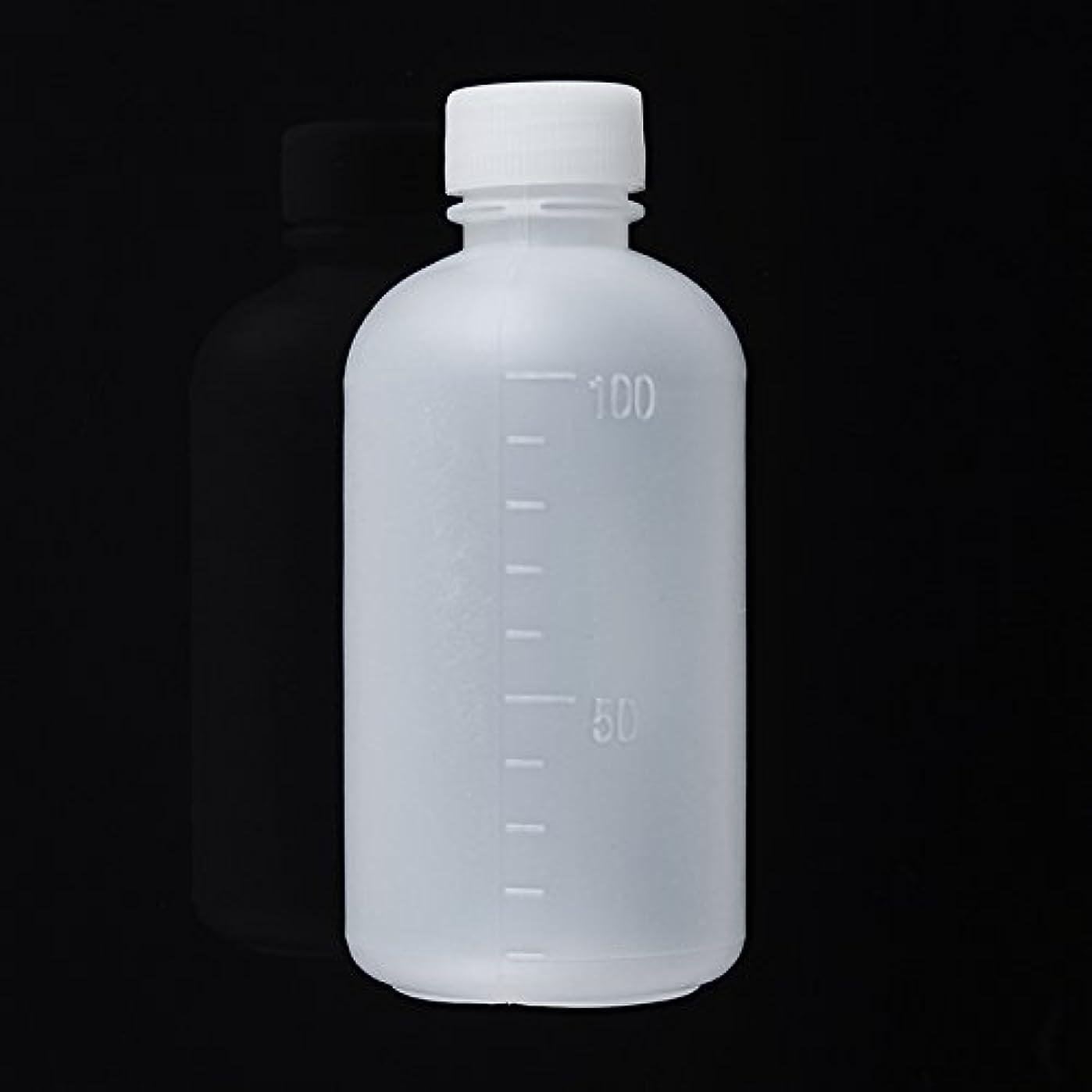 電話あえぎ補体Queenwind 100mL 空のプラスチックサンプル試薬の液体の貯蔵のびんは小さい口の実験室の容器を卒業した