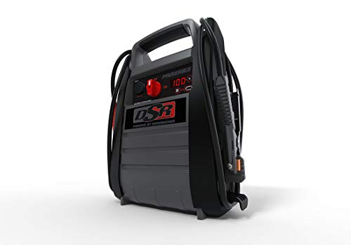 Schumacher DSR ProSeries Jump Starter - 2200 Peak Amps, 525 Cranking Amps, 350 Cold Cranking Amps - with USB and 12V DC Power Port for Charging Phones, Tablets