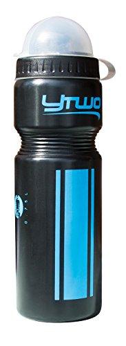 y two YTwo Goor 2 Bidon d'hydratation Mixte Adulte, Noir/Bleu
