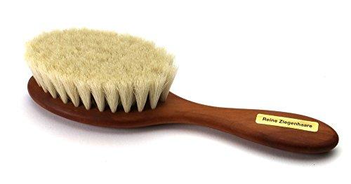 Bébé - Brosse à cheveux naturelle avec poil de...