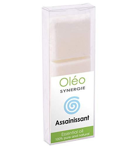 Pastilles de Cire parfumée aux huiles essentielles, synergie Assainissante par Drake