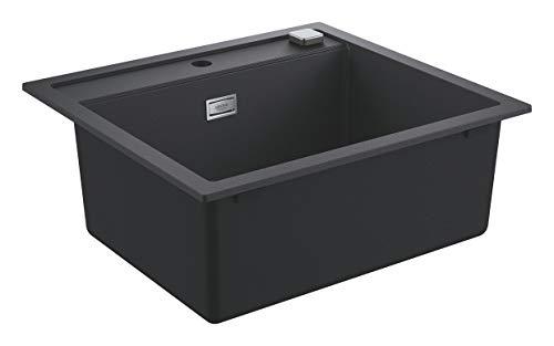 Grohe 31651AP0 31651AP0-K700 Fregadero, Gris (Granite Black), 56 x 50 cm