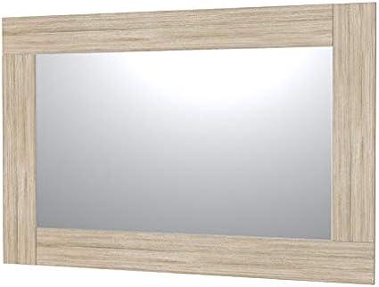 Ve Ca Italy Specchi Con Cornice In Legno Per Arredo Bagno E Casa 9 Colorazioni Design Minimale Rovere Vintage 150x100 Cm Specchio 120x70 Cm Amazon It Casa E Cucina