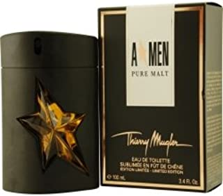 ANGEL MEN PURE MALT by Thierry Mugler EDT SPRAY 3.4 OZ (LIMITED EDITION) (Package of 6 )