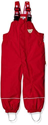 Steiff Mädchen Schneehose, Rot (TANGO RED 4008), 104 (Herstellergröße:104)