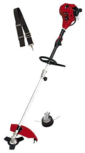 Einhell Benzin-Sense GC-BC 30/1 I AS (1 kW, vibrationsarmer 2-Takt-Motor, digitale Zündung, Alu-Hand-/Bikegriff mit Bedienelementen, inkl. 3-Zahn-Messer + Doppelfadenspule)