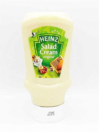 Heinz Salad Cream Original 435g Condimenti Insalata La migliore salsa per insalata, panini, patate al forno, hamburger e patatine La classica ricetta deliziosamente zingosa adatta per i vegetariani