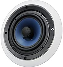 652C Silver Ticket in-Ceiling Speaker with Pivoting Tweeter (6.5 Inch in-Ceiling) 9.5 inch Overall Size